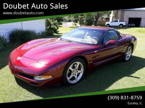2003 Chevrolet Corvette for sale at Doubet Auto Sales in Eureka IL