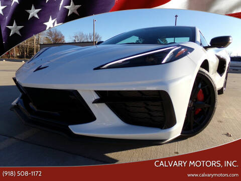 2020 Chevrolet Corvette for sale at Calvary Motors, Inc. in Bixby OK