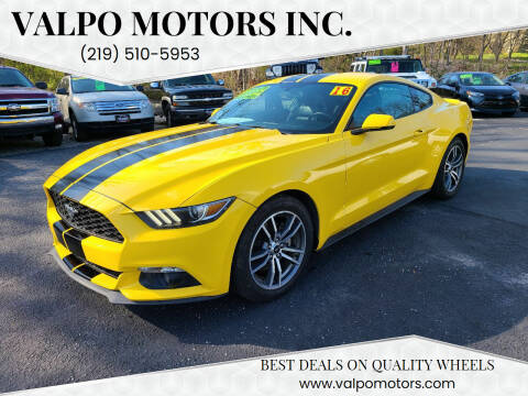2016 Ford Mustang for sale at Valpo Motors Inc. in Valparaiso IN