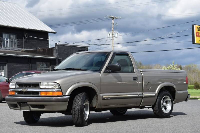 2003 Chevrolet S-10 for sale at Broadway Garage of Columbia County Inc. in Hudson NY