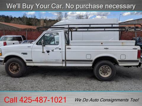 1997 Ford F-250 for sale at Platinum Autos in Woodinville WA