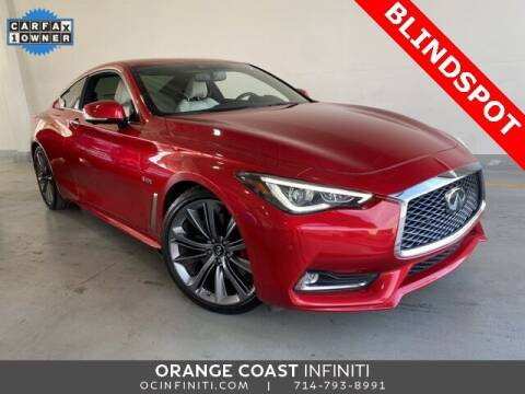 2018 Infiniti Q60 for sale at ORANGE COAST CARS in Westminster CA