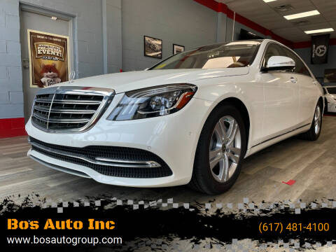 2018 Mercedes-Benz S-Class for sale at Bos Auto Inc in Quincy MA