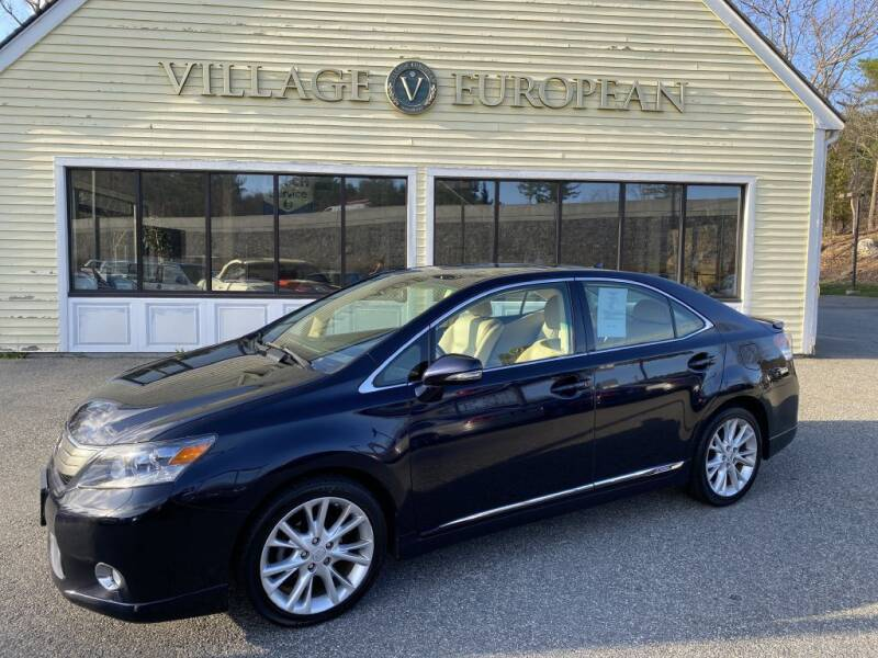 2010 Lexus HS 250h for sale at Village European in Concord MA