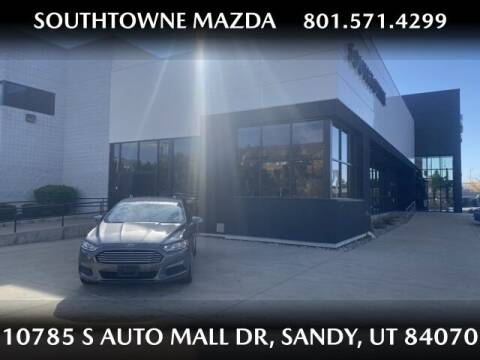 2013 Ford Fusion for sale at Southtowne Mazda of Sandy in Sandy UT