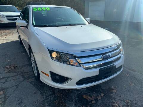 2011 Ford Fusion for sale at SMS Motorsports LLC in Cortland NY