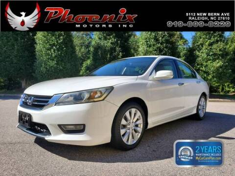 2013 Honda Accord for sale at Phoenix Motors Inc in Raleigh NC