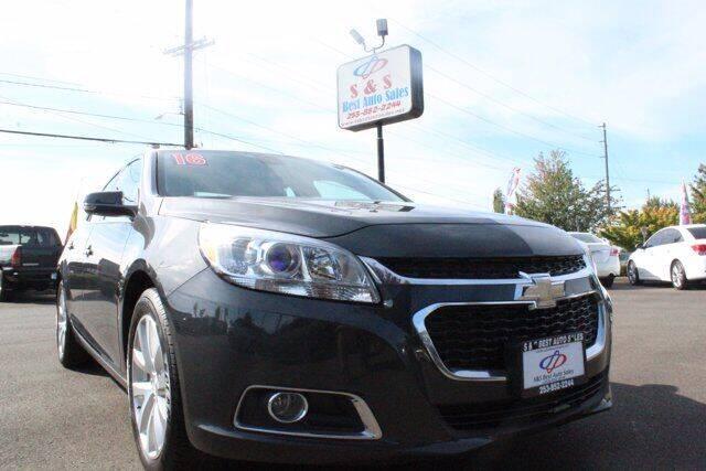 2016 Chevrolet Malibu Limited for sale at S&S Best Auto Sales LLC in Auburn WA