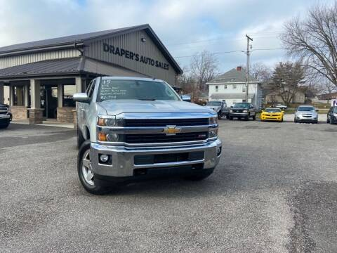 2015 Chevrolet Silverado 2500HD for sale at Drapers Auto Sales in Peru IN