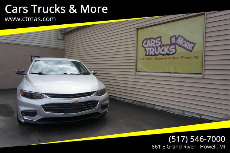 2017 Chevrolet Malibu for sale at Cars Trucks & More in Howell MI
