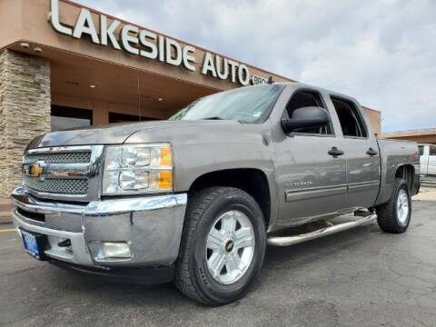 2012 Chevrolet Silverado 1500 for sale at Lakeside Auto Brokers Inc. in Colorado Springs CO