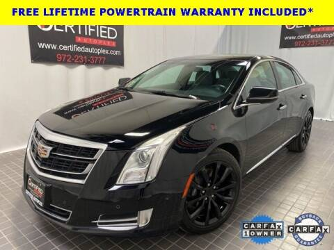 2017 Cadillac XTS for sale at CERTIFIED AUTOPLEX INC in Dallas TX