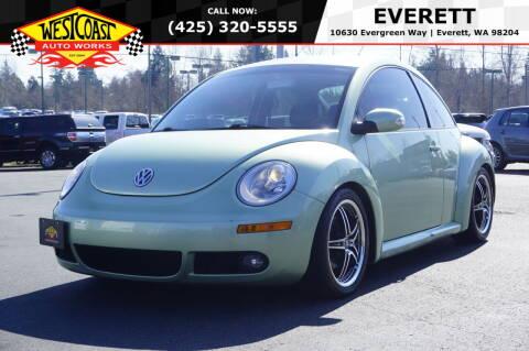 2006 Volkswagen New Beetle for sale at West Coast Auto Works in Edmonds WA