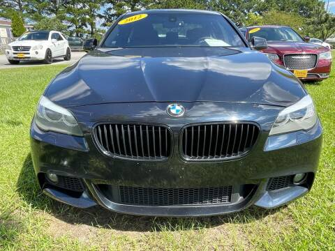 2012 BMW 5 Series for sale at East Carolina Auto Exchange in Greenville NC