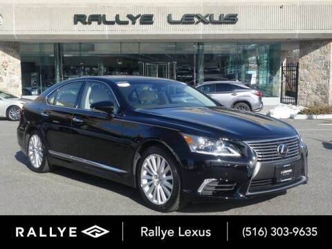 2017 Lexus LS 460 for sale at RALLYE LEXUS in Glen Cove NY