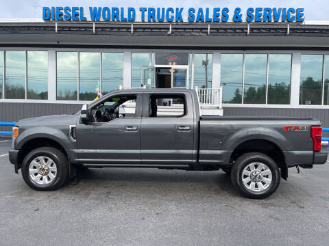 2019 Ford F-350 Super Duty for sale at Diesel World Truck Sales in Plaistow NH