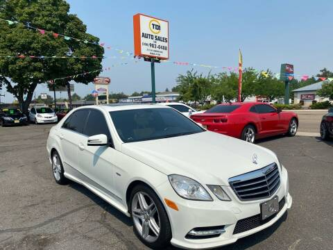 2012 Mercedes-Benz E-Class for sale at TDI AUTO SALES in Boise ID