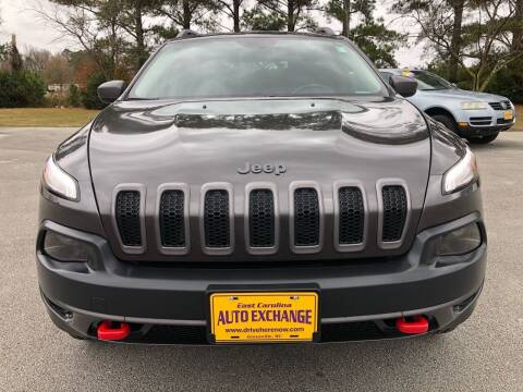 2014 Jeep Cherokee for sale at Kinston Auto Mart in Kinston NC