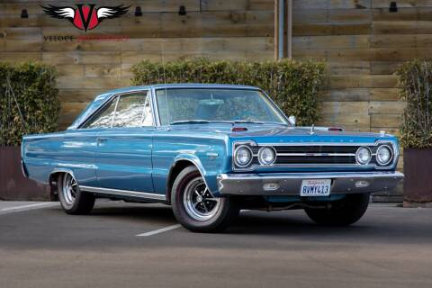 1967 Plymouth Belvedere for sale at Veloce Motorsales in San Diego CA