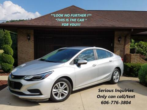 2017 Chevrolet Cruze for sale at Atkins Auto Sales in Sandy Hook KY