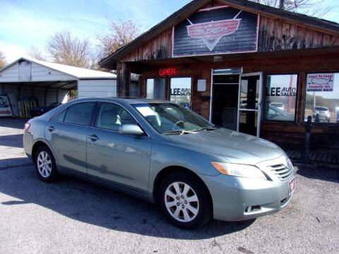 2007 Toyota Camry for sale at LEE AUTO SALES in McAlester OK