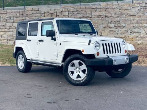2010 Jeep Wrangler Unlimited for sale at Car Hunters LLC in Mount Juliet TN