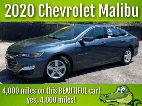 2020 Chevrolet Malibu for sale at LIQUIDATORS in Houston TX