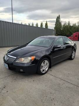 2005 Acura RL for sale at RICKIES AUTO, LLC. in Portland OR