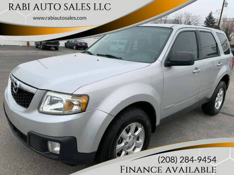 2009 Mazda Tribute for sale at RABI AUTO SALES LLC in Garden City ID