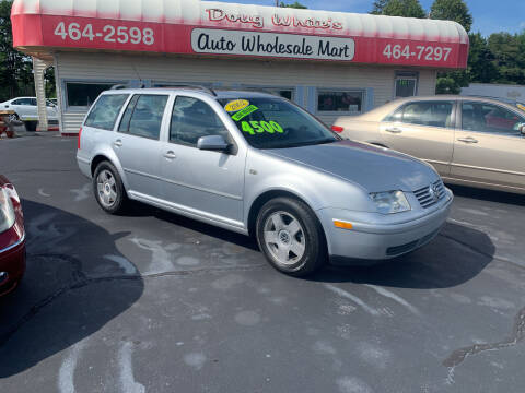 2002 Volkswagen Jetta for sale at Doug White's Auto Wholesale Mart in Newton NC