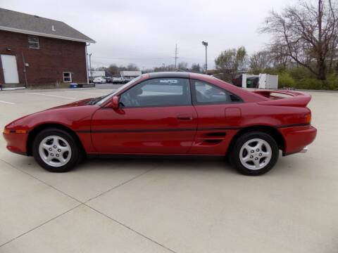 1991 Toyota MR2 for sale at MYLENBUSCH AUTO SOURCE in O` Fallon MO