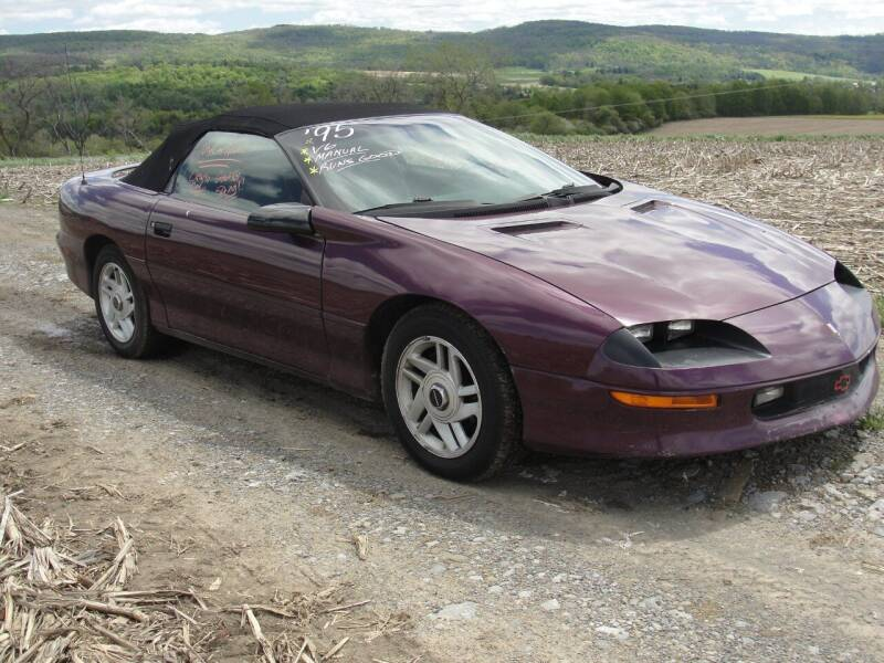 1995 Chevrolet Camaro for sale at Turnpike Auto Sales LLC in East Springfield NY