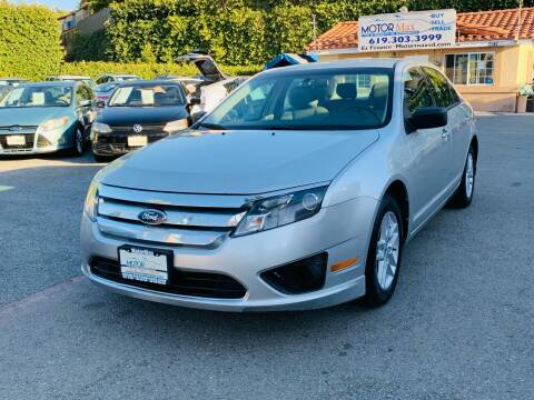 2012 Ford Fusion for sale at MotorMax in Lemon Grove CA