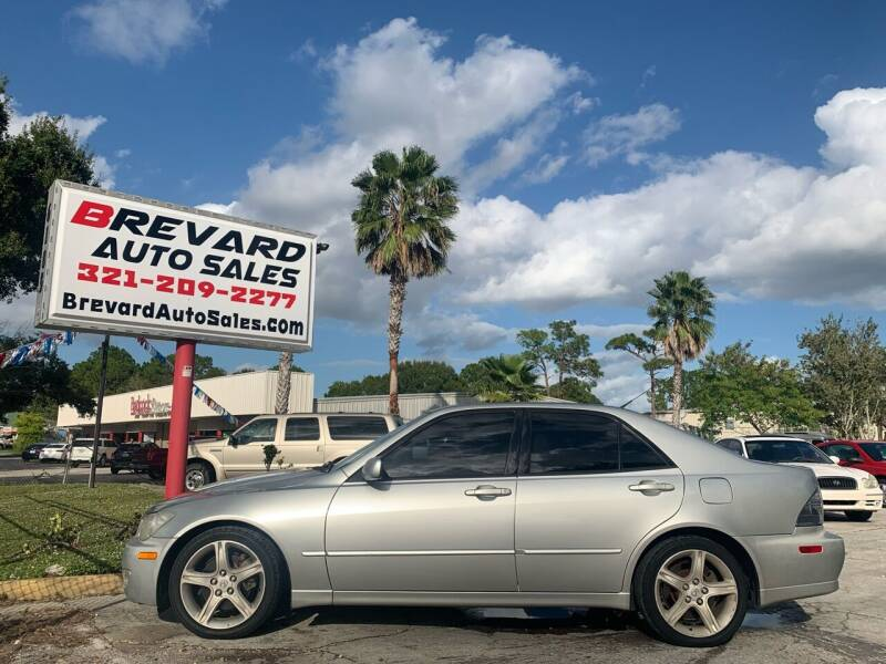 2002 Lexus IS 300 for sale at Brevard Auto Sales in Palm Bay FL