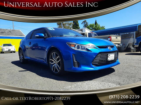 2014 Scion tC for sale at Universal Auto Sales Inc in Salem OR