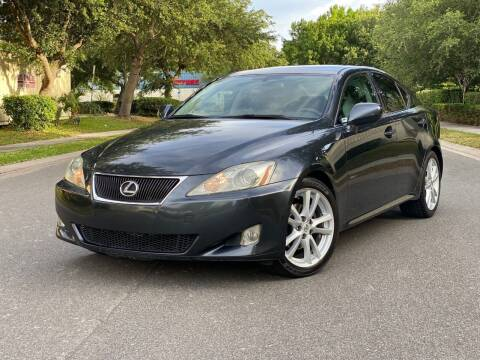 2007 Lexus IS 250 for sale at Presidents Cars LLC in Orlando FL