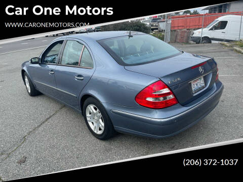 2003 Mercedes-Benz E-Class for sale at Car One Motors in Seattle WA