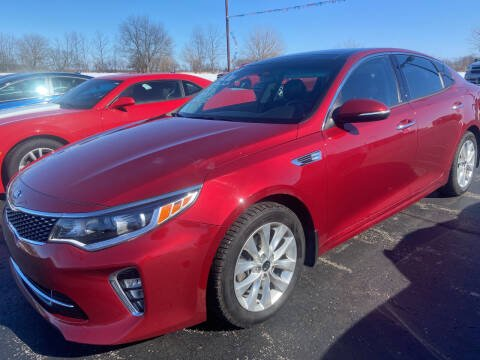 2018 Kia Optima for sale at EAGLE ONE AUTO SALES in Leesburg OH
