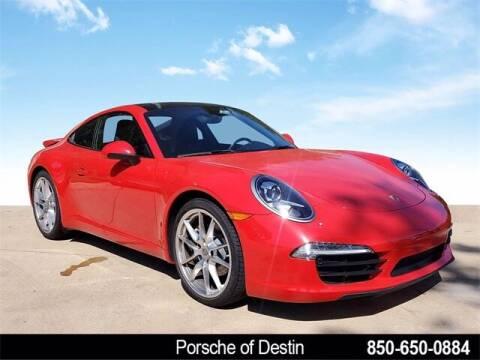 2014 Porsche 911 for sale at Gregg Orr Pre-Owned of Destin in Destin FL