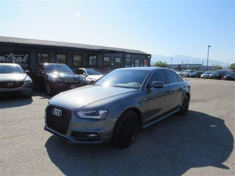 2015 Audi A4 for sale at Central Auto in South Salt Lake UT