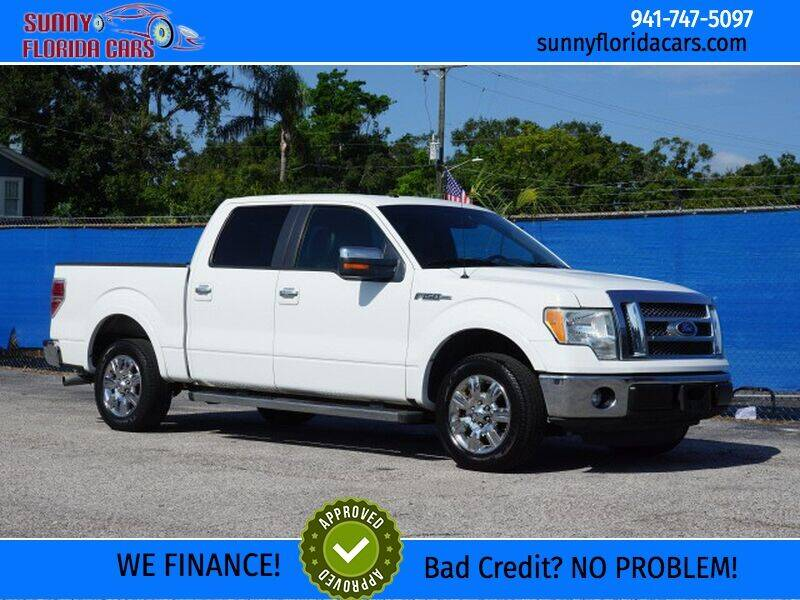 2011 Ford F-150 for sale at Sunny Florida Cars in Bradenton FL