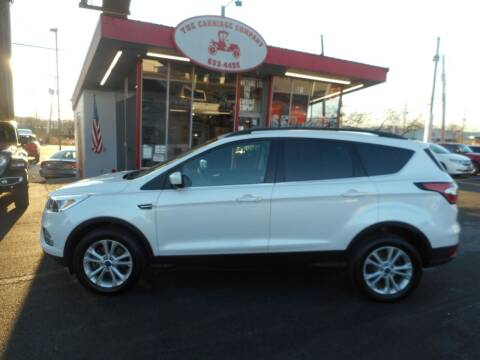 2018 Ford Escape for sale at The Carriage Company in Lancaster OH
