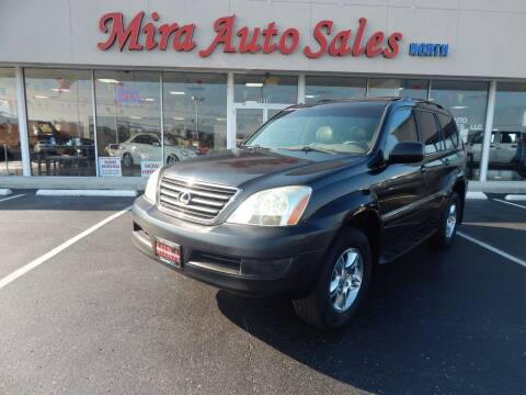2003 Lexus GX 470 for sale at Mira Auto Sales in Dayton OH