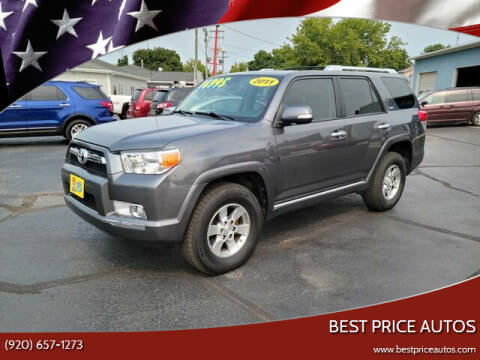 2011 Toyota 4Runner for sale at Best Price Autos in Two Rivers WI