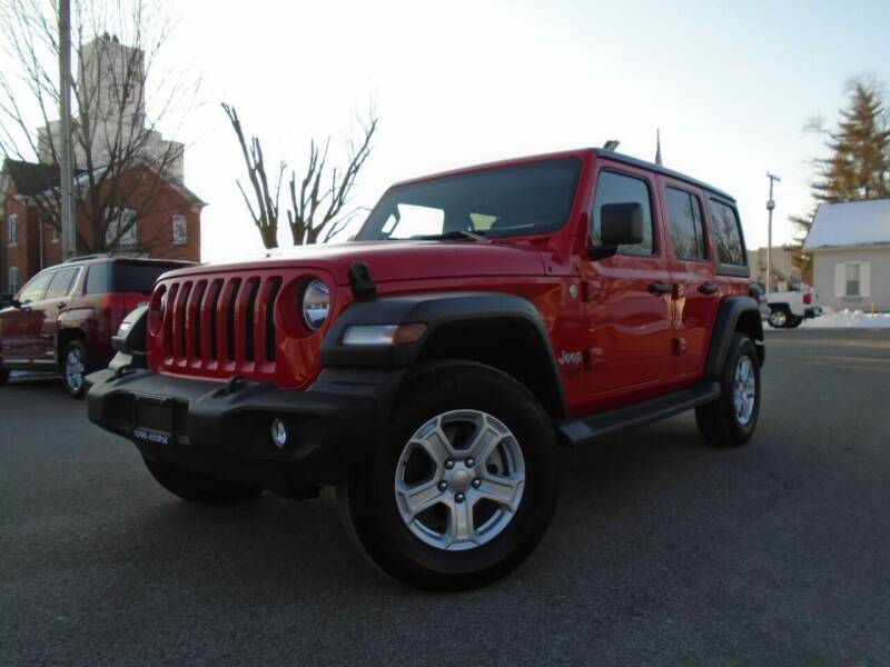 2020 Jeep Wrangler Unlimited for sale at Total Eclipse Auto Sales & Service in Red Bud IL