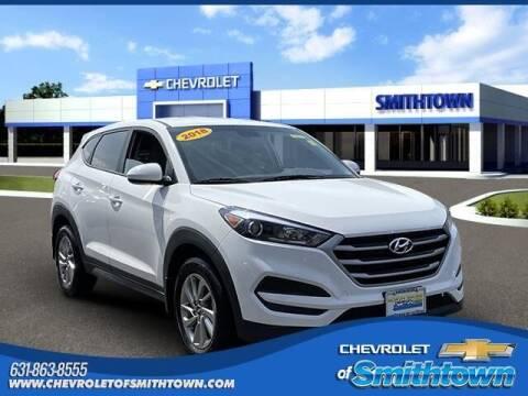 2018 Hyundai Tucson for sale at CHEVROLET OF SMITHTOWN in Saint James NY