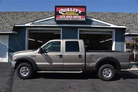 2004 Ford F-250 Super Duty for sale at Quality Pre-Owned Automotive in Cuba MO