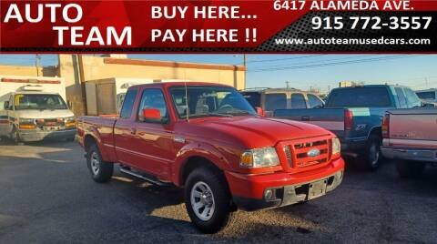 2006 Ford Ranger for sale at AUTO TEAM in El Paso TX