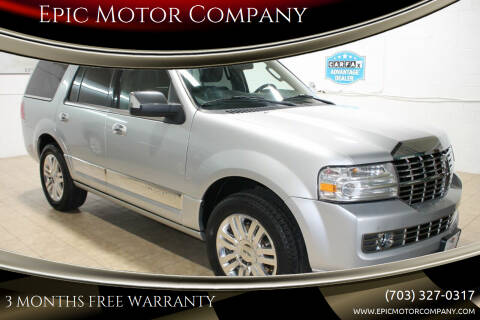 2013 Lincoln Navigator for sale at Epic Motor Company in Chantilly VA