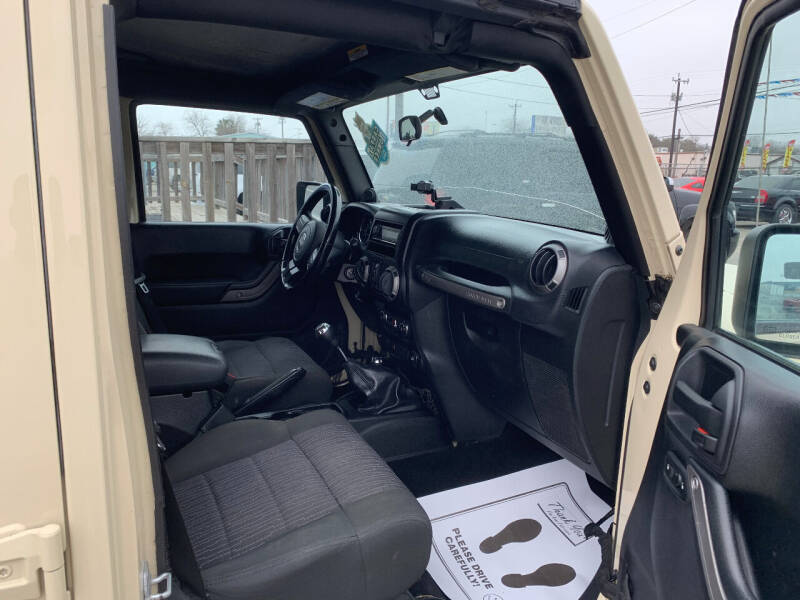 2011 Jeep Wrangler Unlimited 4x4 Sport 4dr SUV - San Antonio TX